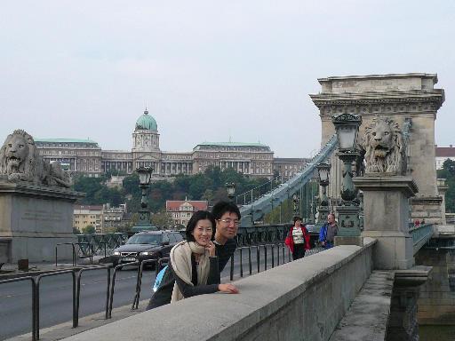ブダペストくさり橋