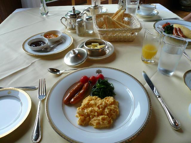日光金谷ホテル 朝食01